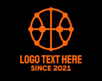 League - Modern Basketball logo design