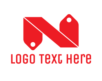 Grocery - Red N Tag logo design