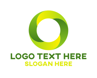 Digital Marketing - Green O logo design