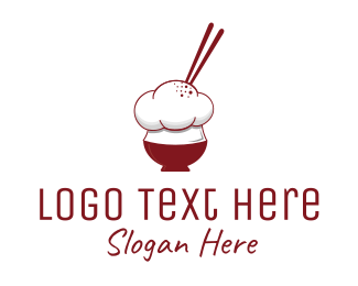 Japanese Food - Chinese Chef logo design