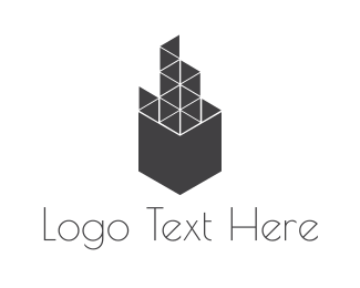 Urban - Geometric Building logo design