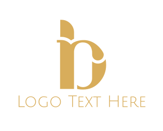 Jewelery - Golden B & R logo design