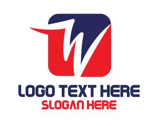 Box - W Box logo design