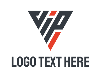 Vip - Triangle VIP logo design