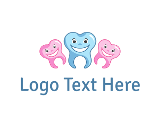Root - Happy Teeth logo design