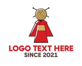 Orient - Kimono Fashion logo design