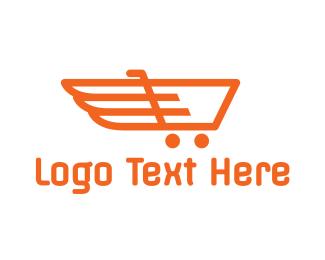 Cart - Cart Wings logo design