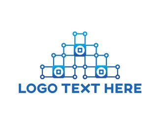 Pyramid - Pyramid Circuit logo design