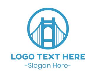 Mumbai - Circle Blue Bridge logo design