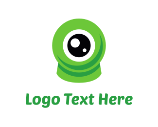 Explore - Eco Eye logo design