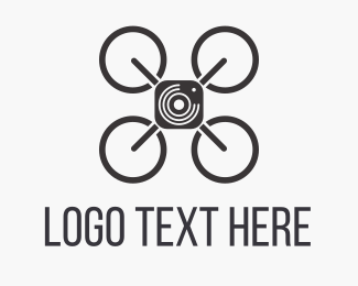 Drone - Sky Drone Photo logo design