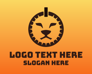 Wildlife - Power Lion logo design