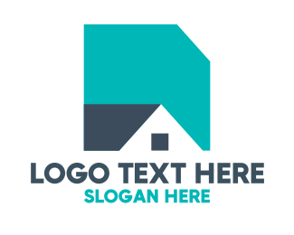 Builders - Basic Shape House logo design