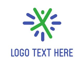 Watch - Cheerful Person logo design