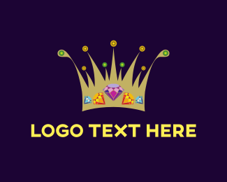 Expensive - Diamond Crown logo design