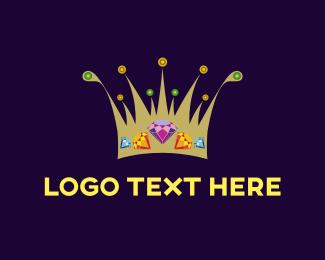 Crown - Diamond Crown logo design