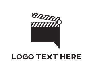 Shoot - Film Chat logo design