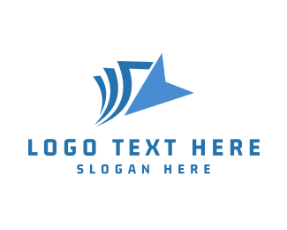 File - Blue Click logo design