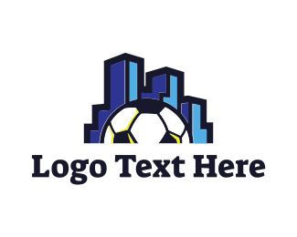 Football - City Soccer logo design