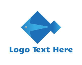 Diamond - Diamond Fish logo design
