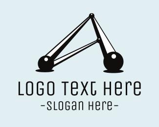 Structure - Atomic Structure logo design