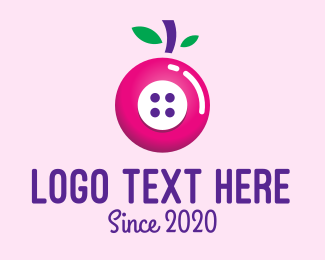 Berry - Cherry Button logo design