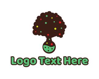Candy Shop - Tree Lab logo design