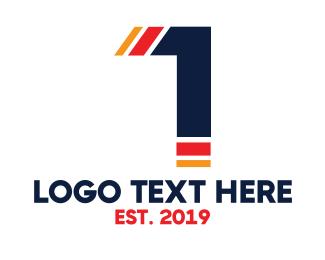 Number 1 - Parrot Number 1 logo design