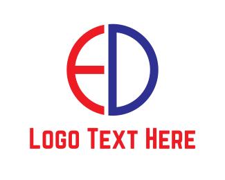 Sportswear - E & D  logo design