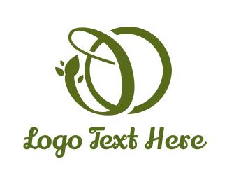 Script - Green Vine DO logo design