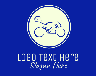 Auto Shop - Bike Gear logo design