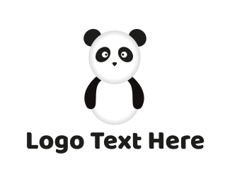 Chinese - Panda Bear logo design