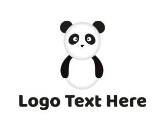 China - Panda Bear logo design