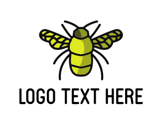 Beetle - Green Bug logo design