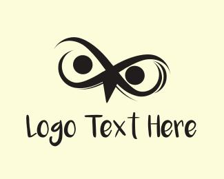 Mad - Angry Bird Eyes logo design