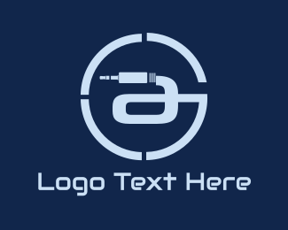 Cable - Connection Circle logo design
