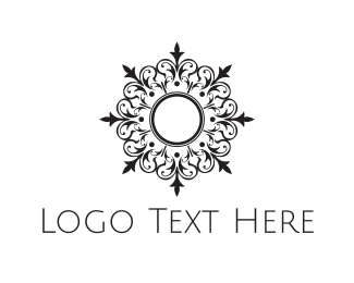 Elegance - Royal Flower logo design