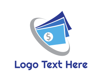 Banking - Abstract Currency Hole logo design