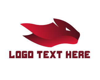 Feline - Red Feline logo design