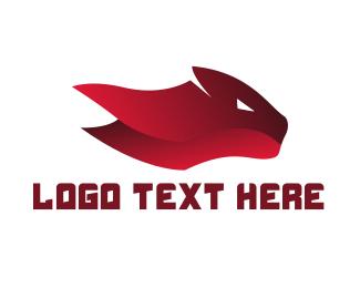 Jaguar - Red Feline logo design