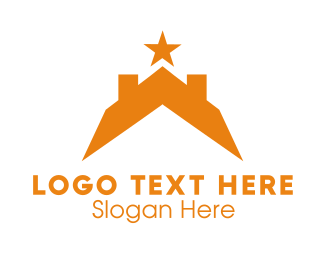 Roof - Star & Roof logo design
