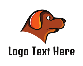 Black And Brown - Brown Dachshund logo design