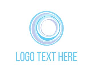 Massage - Wellness Circles logo design