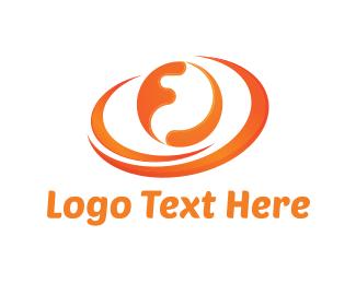 Sphere - Orange Sphere logo design