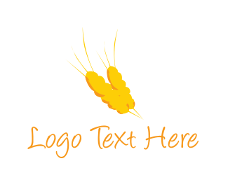 Wheat - Golden Wheat logo design