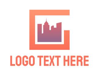 Skyline - Modern City G logo design