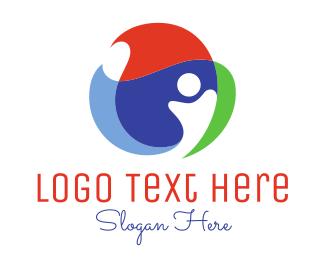 Sphere - Global Person logo design