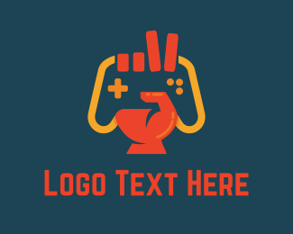 Fortnite - Victory Gamer logo design
