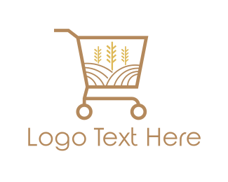 Cereal - Grain Market logo design