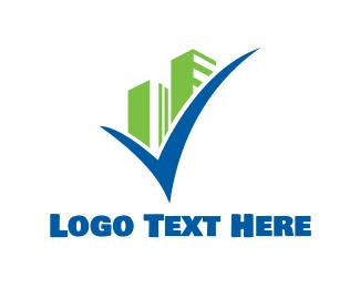 Complete - Building Check logo design